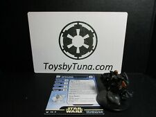 Star Wars Miniatures Darth Maul on Speeder w/ Card mini RPG Legion