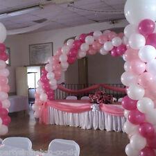 WEDDINGS  PARTY PRESENTATION 2 x BALLOON COLUMNS & ARCH KIT