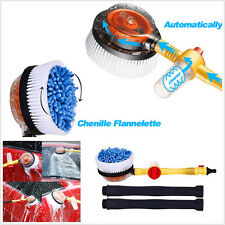 Multifunction Automatic Washing Car Auto Body Water Flow Foam Brush Cleaning Kit