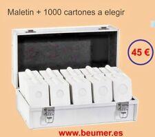 MALETIN Aluminio + 1000 cartones para Grapar.