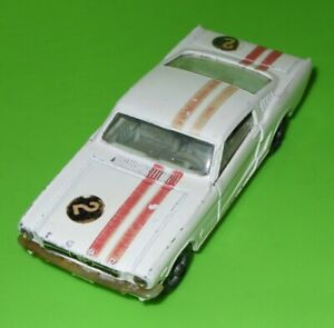 Corgi / 325 Ford Mustang 'Fastback' Competition / Red Side Stripes!