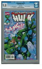 Rampaging Hulk #4 (1998) Marvel Comics CGC 9.8 White Pages ZZ525