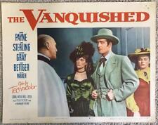 John Payne Coleen Gray VANQUISHED 1953 #8 Vintage Lobby Card 303