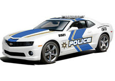 Maisto 2010 Chevy Chevrolet Camaro SS RS 1:18 Diecast Model Police Car