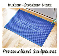 Door Mat Doormat Personalized Indoor/Outdoor with 18 Color Choices & 2 Patterns