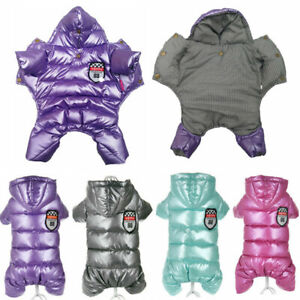 Waterproof Clothes For Dogs Spring Winter Warm Puppy Pet Coats Jacket Jumpsuits
