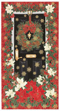 FABRIC PANEL - 'HOLIDAY WELCOME' DOOR - TIMELESS TREASURES