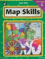 Basic Skills Map Skills, Grade 6 - Paperback By Gilbert, Laurie - VERY GOOD