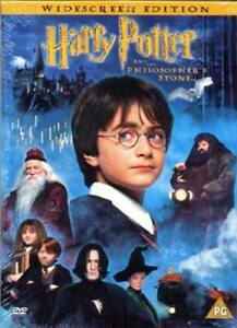 Harry Potter and the Philosopher's Stone DVD (2002) Daniel Radcliffe, Columbus