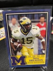 2007 TK LEGACY Steve Breaston Michigan Wolverines non - auto base ARIZONA Cards