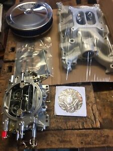 Rover V8 Edelbrock Carb Inlet And Filter Package Hot Rod Kit Car Land Rover