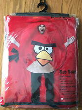 NIP Unused ~ Angry Birds ~ Red Bird ~ Adult Costume ~ Rovio Entertainment  Ltd