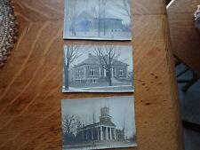 Tecumseh  Mi Mich Michigan -3 historical photos-old!!!
