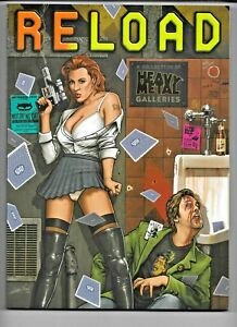Reload: Heavy Metal Galleries 2005 SC 188 pp Corben Torres Royo VF+ 1932413235
