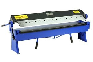 Abkantmaschine 1220mm x 1,5mm Abkantbank Abkantwerkzeug Kantpresse 02259