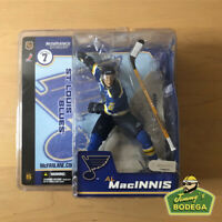Al MacInnis 2003 Figurine McFarlane NHL Series 7 St. Louis (Blue Jersey)
