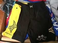 Anderson Silva auto signed shorts - TAPOUT UFC MMA
