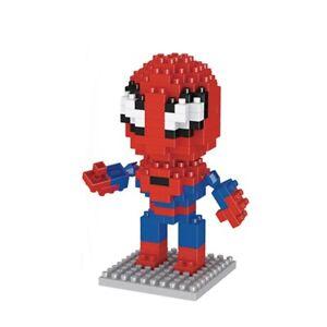 Spiderman Superhero LOZ Style 192pc Nano Brick Mini Building Block Puzzle Toy UK