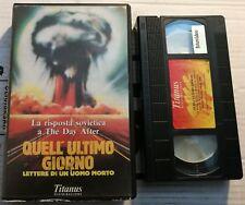 VHS QUELL'ULTIMO GIORNO - LETTERE DI UN UOMO MORTO di K. Lopusciankij [TITANUS]