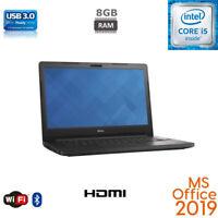 "Dell Latitude 14"" i5-6200U 8GB RAM, SSD/HDD, Windows 10 Pro MS Office 2019"