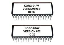 Korg 01/w - Version 62 OS EPROM Firmware Upgrade Update for 01W FD Pro Pro X