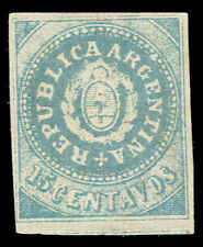 Scott # 7A - 1862 - ' Seal of the Republic ', Without Accent On U ' Forgery '