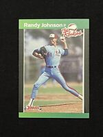 1989 Donruss The Rookies Set Break # 43 Randy Johnson RC **NM-MINT or Better**
