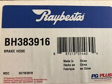 Brake Hydraulic Hose-PG Plus Front Right Raybestos BH383916 Armada