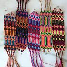 Embroidered Woven Mexican Friendship Bracelets - Small