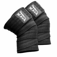 Mava Sports Knee Wraps (Pair) for Cross Training Wods,Gym
