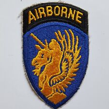 U.S. ARMY 13th AIRBORNE DIVISION ww2 repro Color écusson patch