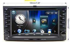 In Dash 2 Din Car Stereo Radio DVD Player GPS Navigation For KIA Rondo / Rondo 7
