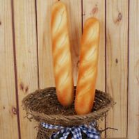 Artificial Fake Bread French Baguette Stick Food Home Kitchen Decor Kids Toy US