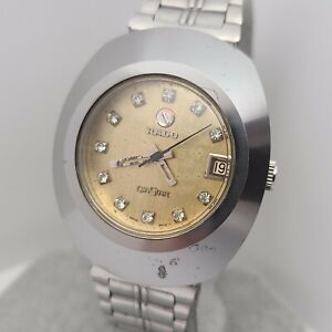 Vintage RADO DIASTAR 8-625.0008.3 Men's Automatic watch R2797 17jewels date1970s