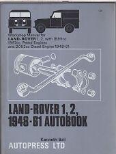 LAND ROVER SERIES 1 & 2 PETROL / DIESEL 1948 - 1961 OWNERS WORKSHOP MANUAL