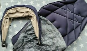Mamas And Papas Sola Zoom Urbo Navy Blue Colour Pack Hood and Seat Pad with Net