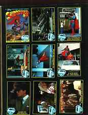 1983 Topps Superman 3 Trading Card Set (99) EXCELLENT TO FEW NM With 22 Stickers