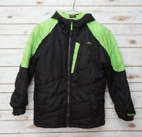 Pacific Trail Boys Large 14/16 Jacket Zip Up Green Black
