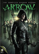 ARROW The COMPLETE SECOND SEASON 16+ Hours 23 Episodes + Special Features SEALED