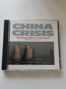 China Crisis - Working With Fire And Steel (CD) No barcode