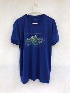 ⭐️ Mens Icebreaker 100% Merino Wool Fine Knit T-Shirt Jumper Base Layer Size S