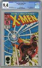 1987 Uncanny X-Men 221 CGC 9.4 1st Mister Sinister White Pages