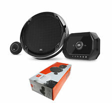 "JBL 300 Watt 2 Ohm 6.5"" Two-way Component System with Gap Switchable Crossover"