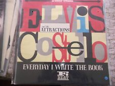 ELVIS COSTELLO -  Everyday I write the book  - 12'' (maxi 45 t.) -