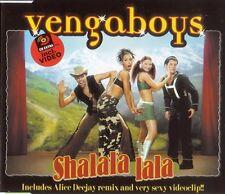 Vengaboys Maxi CD Shalala Lala - Europe (M/M)