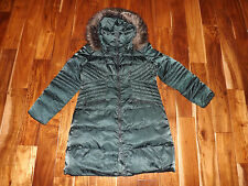 NEW Womens 1 MADISON Jade Green Luxe Jacket  Down Puffer Coat Sz XL
