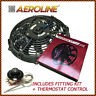 "14"" Aeroline® Electric Radiator 120w 12v Cooling Fan + Thermostat CLASSIC CAR"