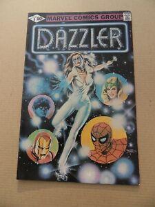 Dazzler 1 . X-Men App. Marvel 1981   . VF - minus