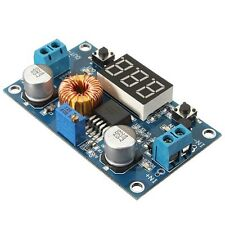 XL4015 5A DC-DC Step Down Adjustable Power Supply Buck Module LED w/ Voltmeter