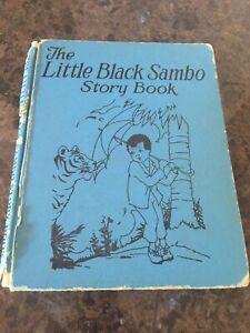 Rare The Little Sambo Story Book 1935 edition, Platt and Munk